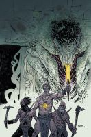 BPRD_Abyss of Time issue 2 cvr by JHarren
