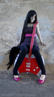 WIP Marceline Cosplay 3 by Fennec777