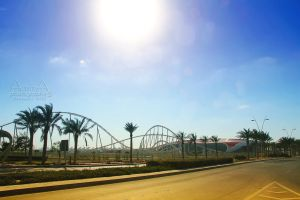 ferrari world yas island 6 by amirajuli