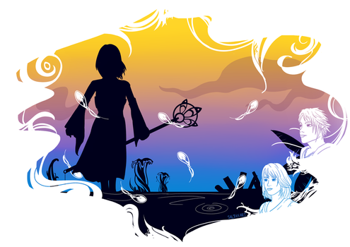 FFX Graphic by salthyart