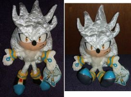 Silver the Hedgehog 10' PLUSH by SetsunaKou