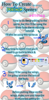 How to Create..... Pokemon Sprites ~ Editing by TheYUO