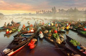 Floating Market Activity by kongsthegraph