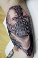 Bane Tattoo by ToHeavenOrHell