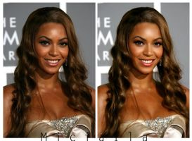 Beyonce Retouch by Miciaila