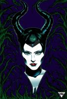 Maleficent by thecrow1299