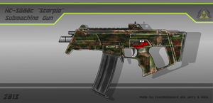 Fictional Firearm: HC-SG88C [Scorpio] SMG by CzechBiohazard