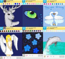 Draw Something!!! (blue edition No.2) (Day 114) by Hedwigs-art
