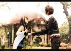 Final Fantasy 8 Squall Leonhart n Rinoa Heartilly by jiocosplay