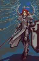 A Crusader's Might! by Robby-Angel