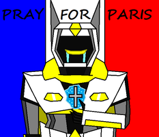 Pray For Paris by bumblebeegirl1234