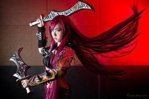League of Legends - Katarina by KiraHokuten