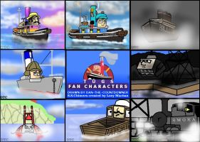 TUGS Fan Characters by Dan-the-Countdowner