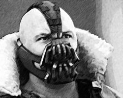 The Dark Knight Rises. Bane by StalkerAE