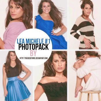Lea Michele Photopack #1 by RosiiEditions