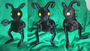 Shadow Heartless plush by WampusDragon