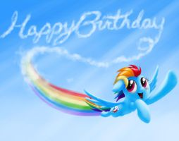 Flying Forward (Birthday Version) by verulence