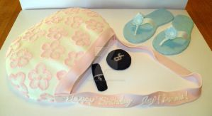 Purse Cake by streboradnama