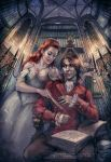 Elsbeth and Constantin by Girre