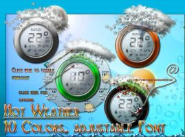 Hot Weather -AveDesk,-Scripter by spider4webdesign