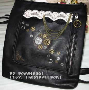 Steampunk bag by DombiHugi