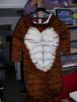 Tiger digi muscle body by Bladespark