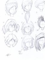 hair styles by Dreamboy1412