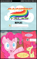 Rainbow Tales Replies: Way Too Red by Narflarg