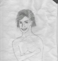 Pencil sketch of Suze by Attalus