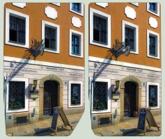 Goerlitz Architecture III ::: HDR Cross-Eye 3D by zour