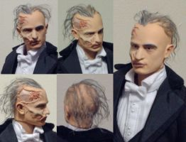 Phantom of the Opera Erik custom figure Unmasked by Shan-Lan