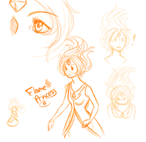 AT: Flame Princess Practice by xdarksoul07x