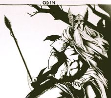 Lost Odin by JeffStokely