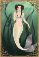 Mermaid Princess Leia by LadyIlona1984