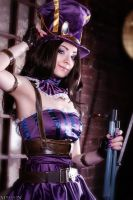 LoL- Caitlyn by MilliganVick