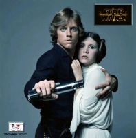 Luke and Leia - Flame On by TheSnowman10