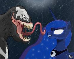 Venom vs Luna by mr4500k