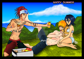 Bleach: Happy Summer by rydi1689