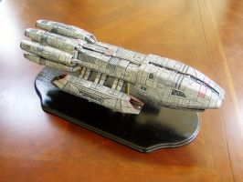 Battlestar Pegasus model 1 by dinobatfan