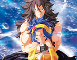 Gajeel and Levy-Cover-47- by nina2119