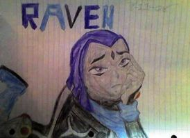 Raven From Stranded by Ravenisawesome