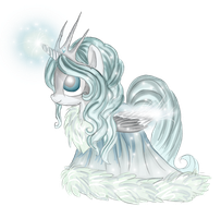 Pony Point Adopt: Icy Pony CLOSED by Blesses