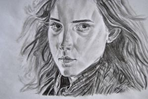 Hermione by WithABucketOfPencils