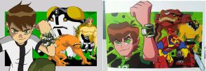 Omniverse vs. Original Ben 10 by Assassin-VariableX