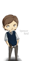 Spencer Reid Chibi by Zinantis