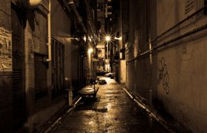 Hong Kong Alley $1 by opticalvalve