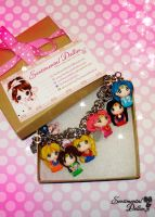 Sailor Moon Charms Bracelet by SentimentalDolliez