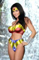 Wonder Woman Shower by robwalley