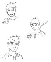 Jack Frost Expression Sheet by 2sisters34