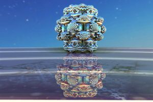 Mandelbulb with reflections by bib993